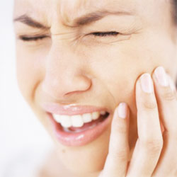Side effects of teeth whitening can include pain