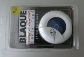 blaque dental tape - the packet