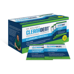 best denture products - cleanadent crystals