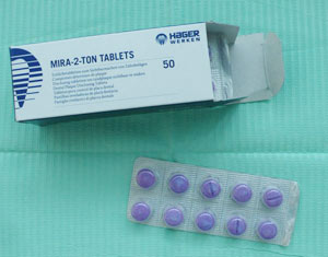 disclosing tablets