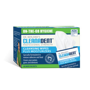 best denture products - cleanadent wipes