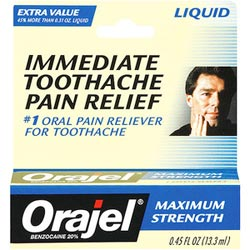 mouth ulcer treatment - orajel