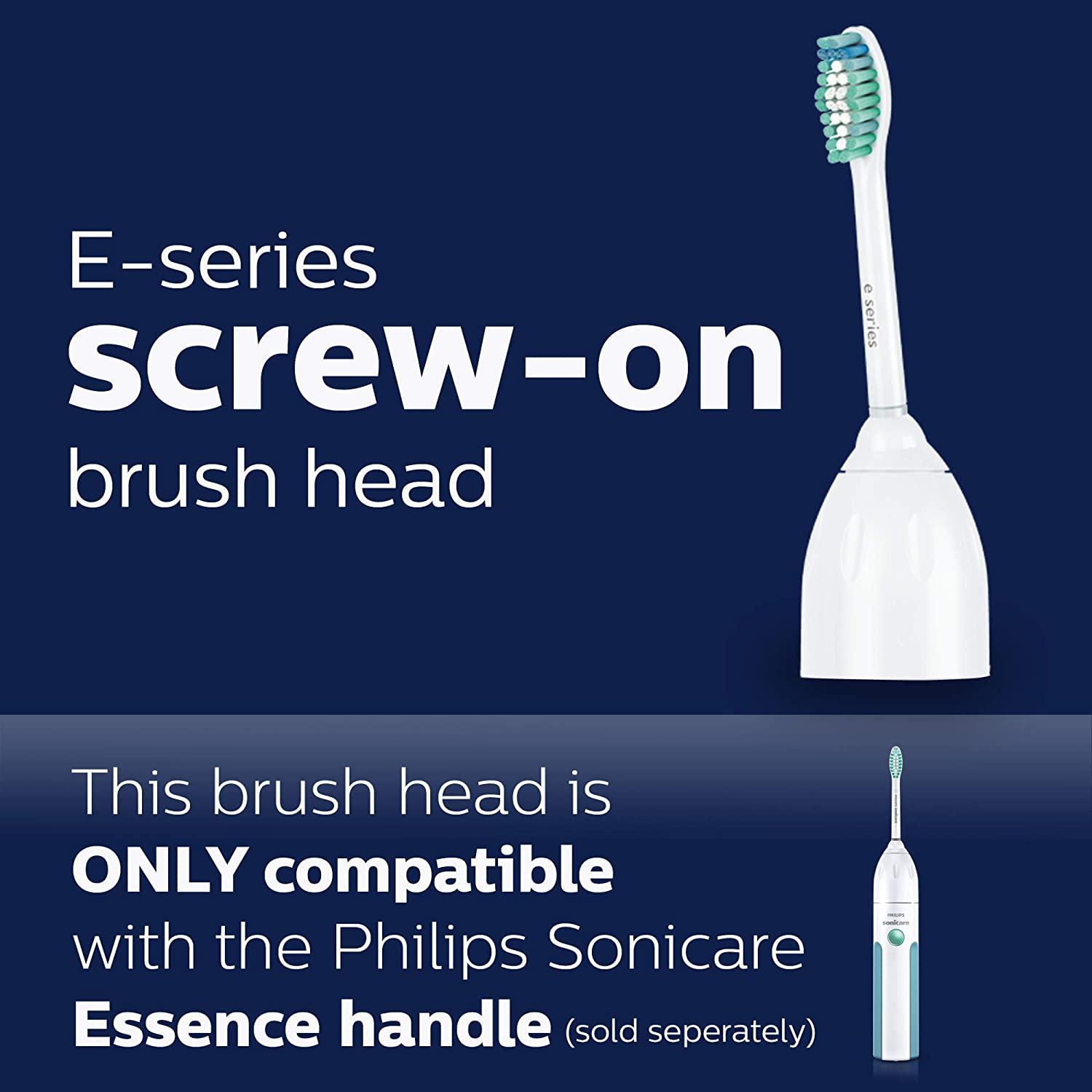 Sonicare E series brush head replacement
