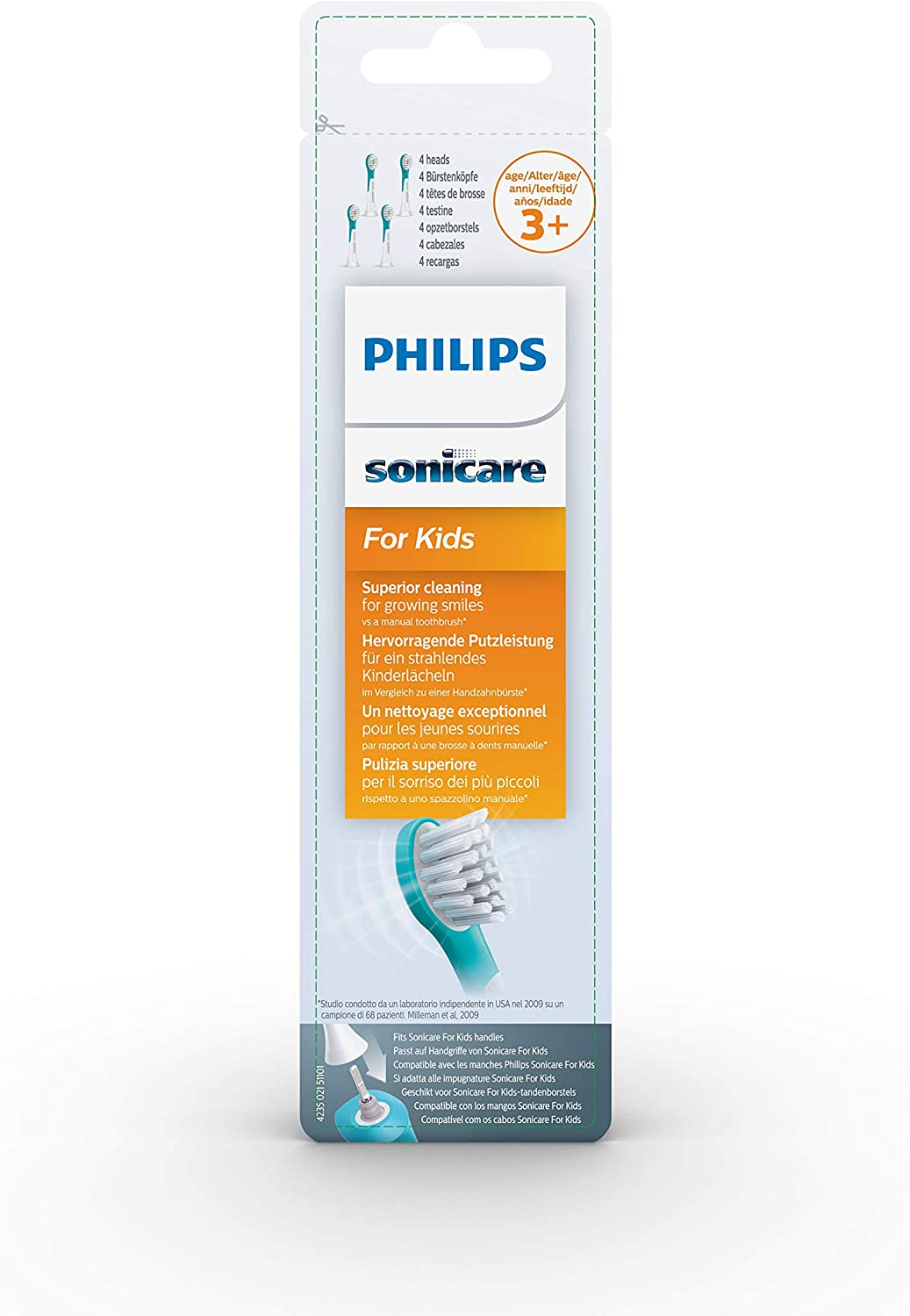 Sonicare for kids replacement brush head 3+