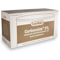 Dental anesthetics - Carbocaine